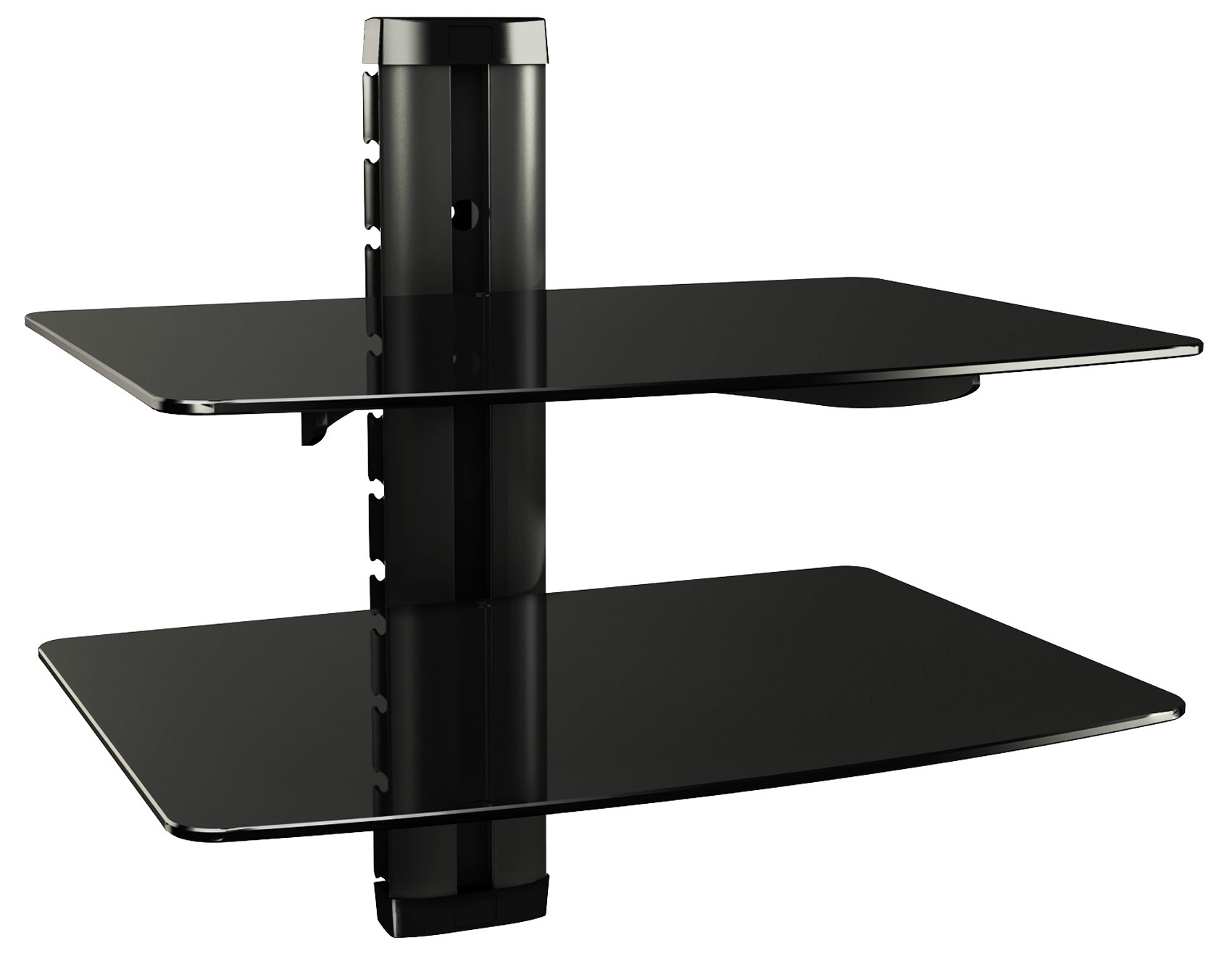 hifi regal dvd wandhalterung glas wandboard glasregal xl farbwahl. Black Bedroom Furniture Sets. Home Design Ideas