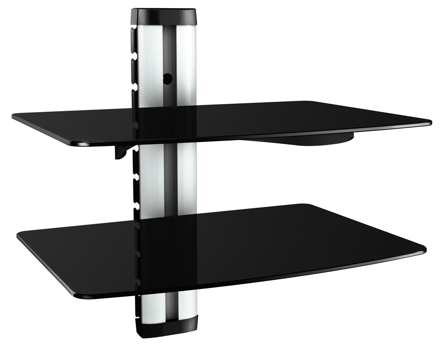 hifi regal dvd wandhalterung glas wandboard glasregal xl. Black Bedroom Furniture Sets. Home Design Ideas