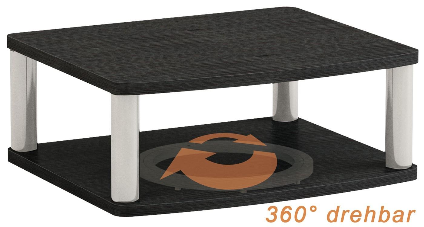 fernsehtisch tv st nder aufsatz stand untersatz 360. Black Bedroom Furniture Sets. Home Design Ideas