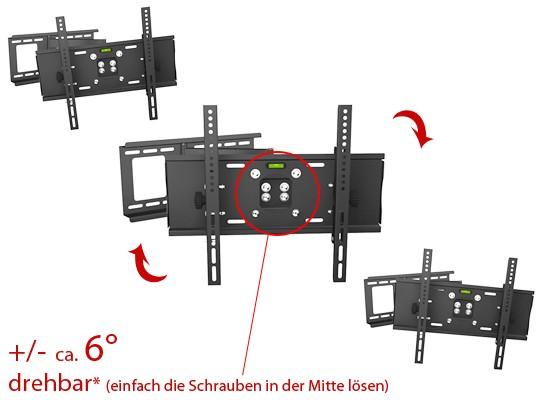 LCD LED Wandhalterung passt für Sony ® KDL46EX505