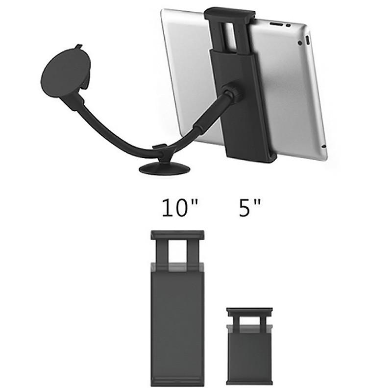 tablet und smartphone kfz halterung drehbar 5 10 zoll. Black Bedroom Furniture Sets. Home Design Ideas