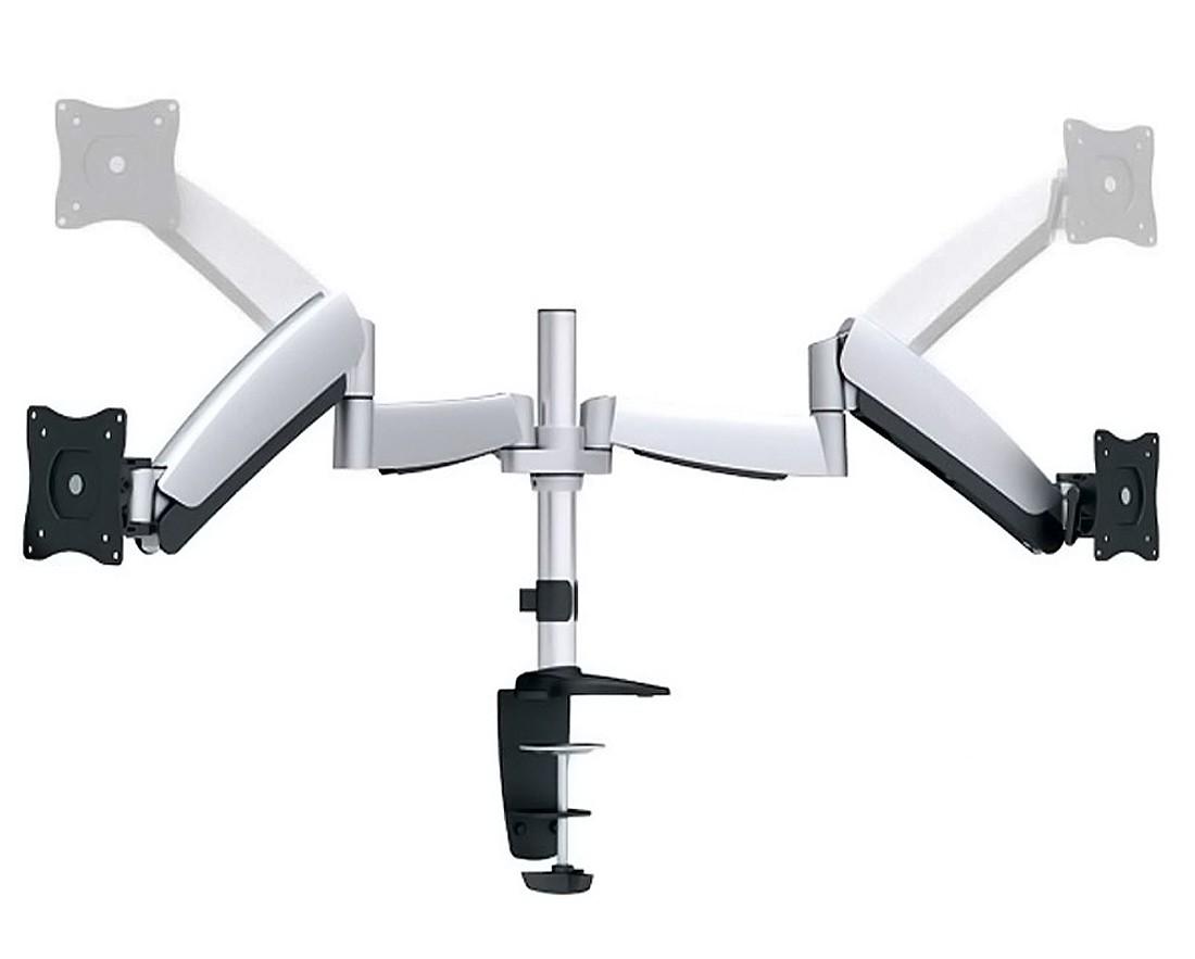 ricoo monitor tischhalterung f r 2 monitore ts3111. Black Bedroom Furniture Sets. Home Design Ideas