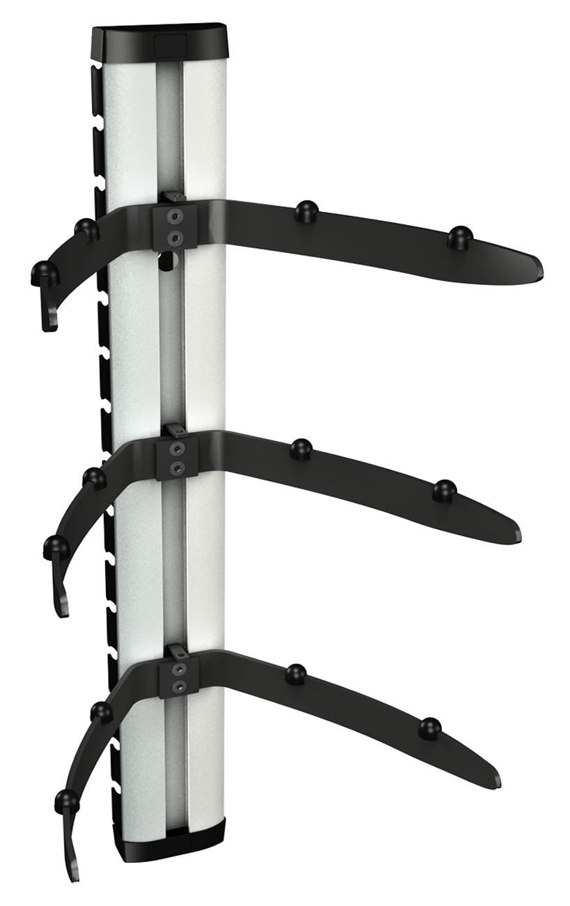 dvd regal glas wand glasregal hifi wandboard halterung 11176. Black Bedroom Furniture Sets. Home Design Ideas