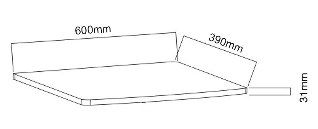 Drehbarer TV Untersatz Drehteller 360° drehbar FS053 – Bild 6