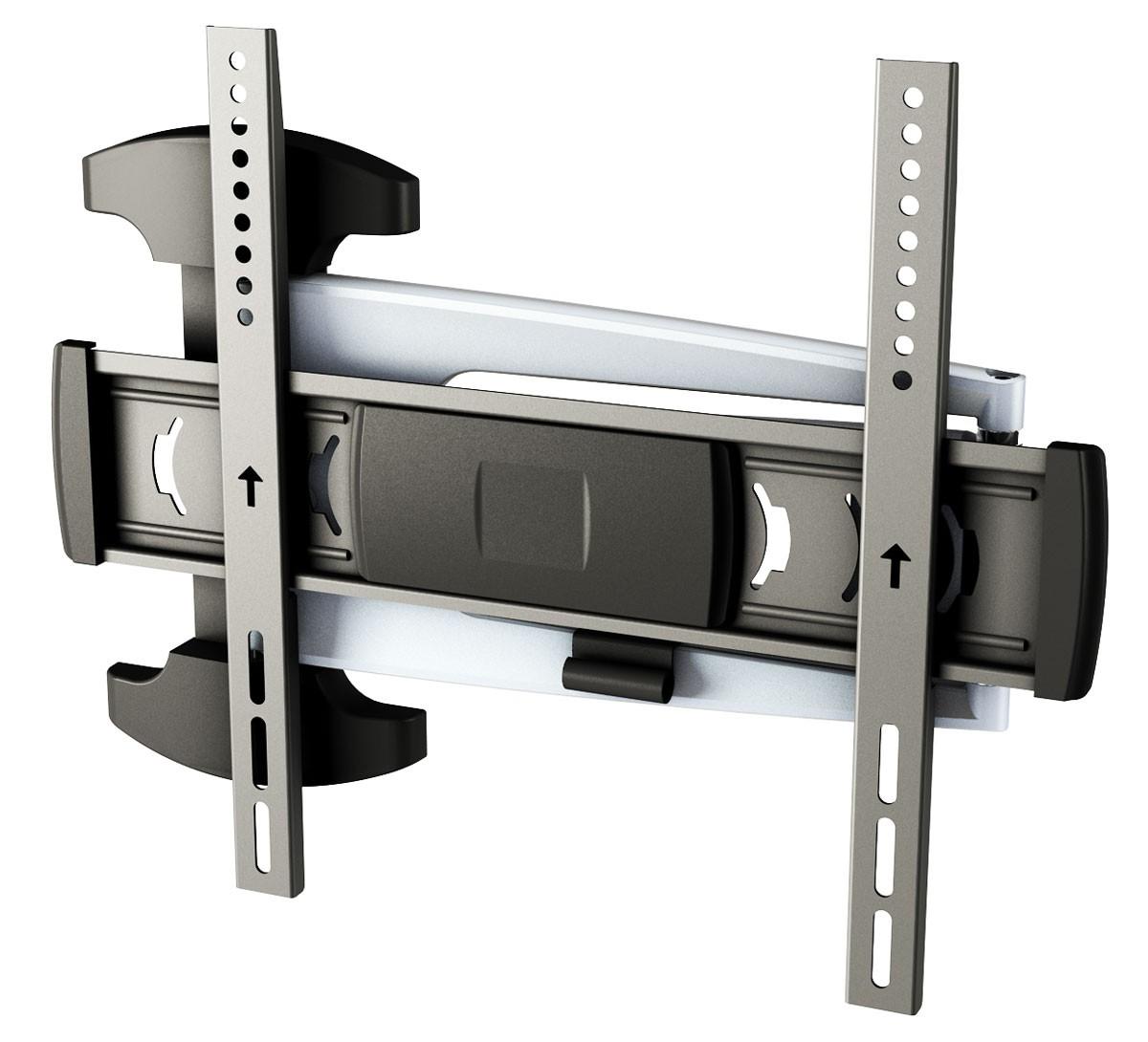 tv wandhalterung modern in silber s1044 10720. Black Bedroom Furniture Sets. Home Design Ideas